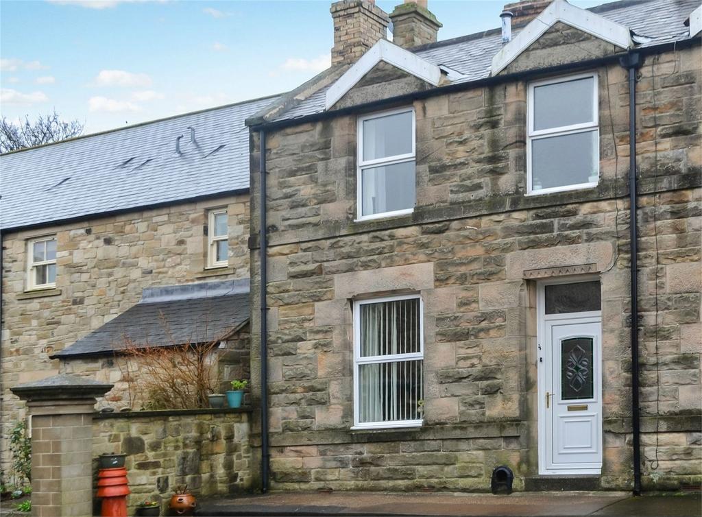 3 Bedrooms Terraced House for sale in Hotspur Place, Alnwick, Northumberland