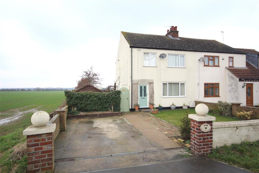 3 Bedrooms Semi Detached House for sale in Brant Road, Lincoln, LN5