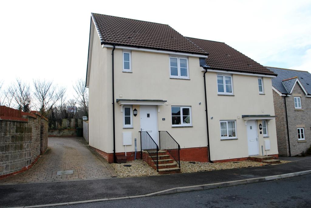 3 Bedrooms Semi Detached House for sale in Rogers Crescent, Bideford