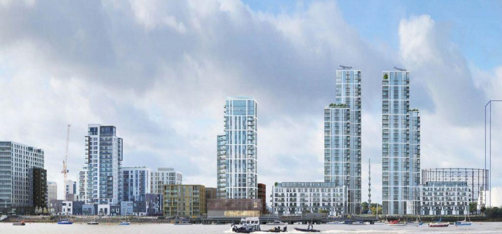 2 Bedrooms Apartment Flat for sale in The Lighterman, Tidemill Square, North Greenwich, SE10