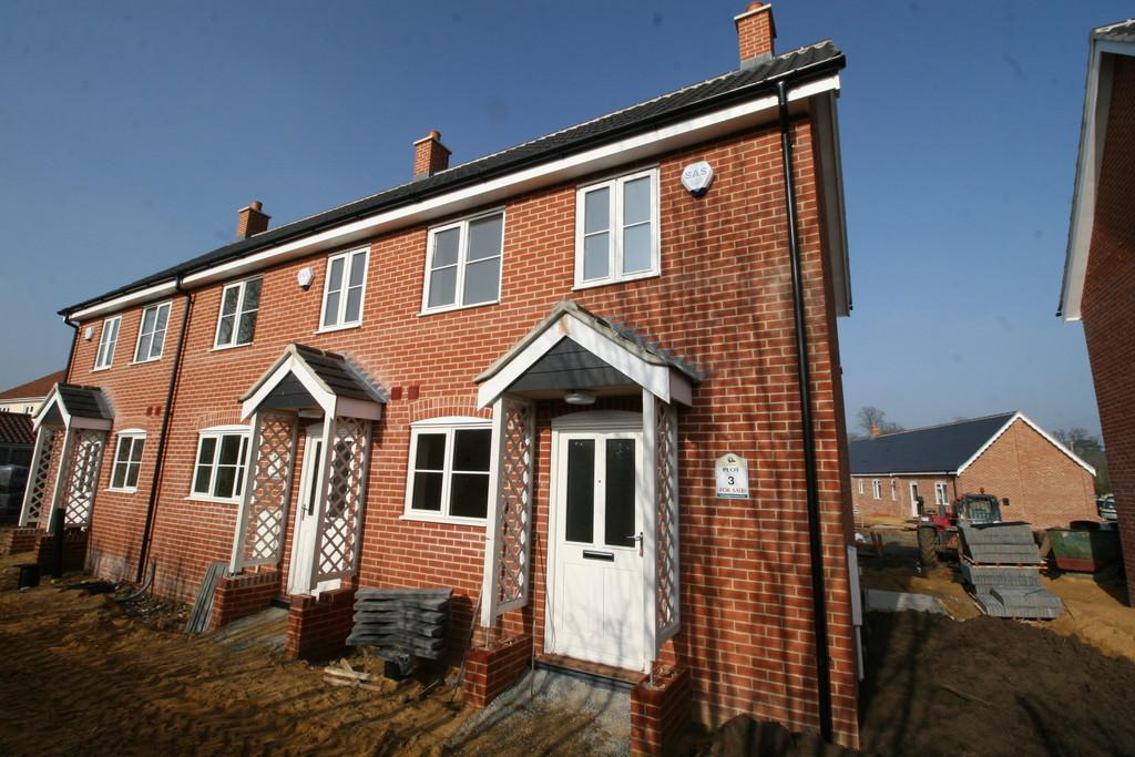 3 Bedrooms Semi Detached House for sale in The Croft, Sibton, Nr Saxmundham