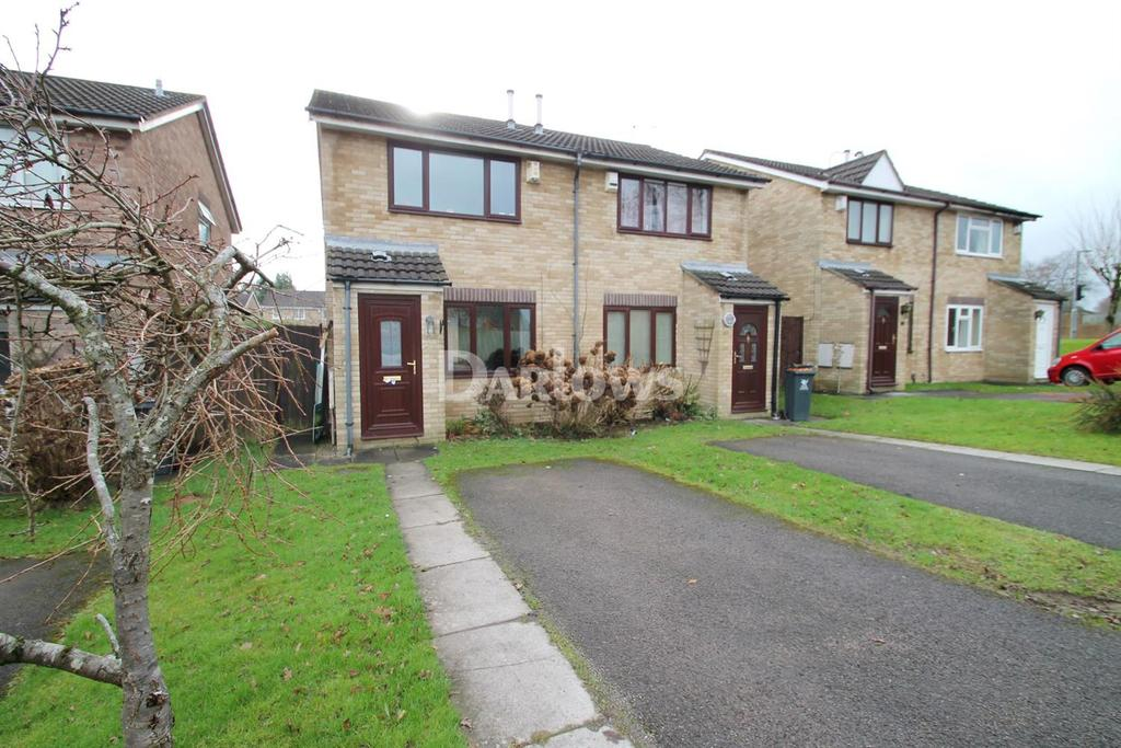 2 Bedrooms Semi Detached House for sale in Wicken Close, St Mellons, Cardiff
