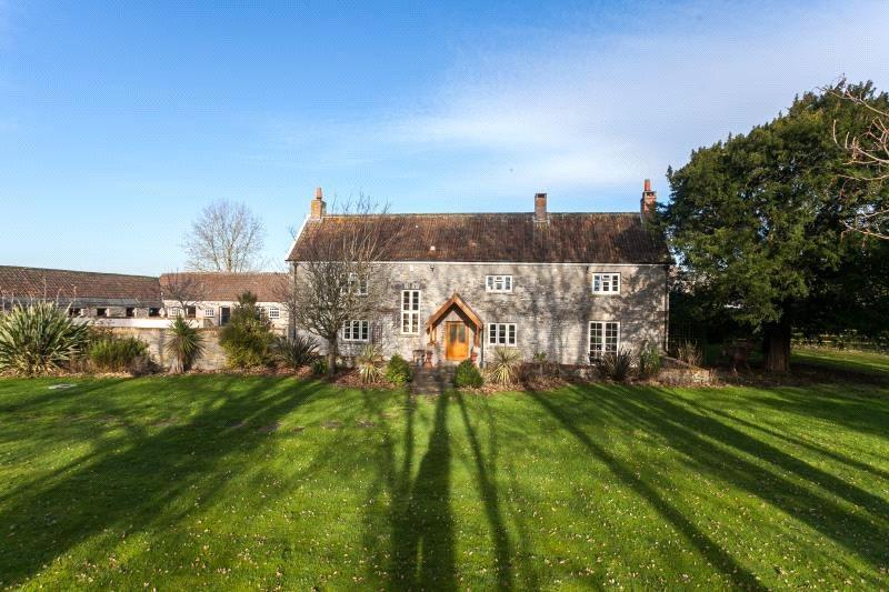 5 Bedrooms Detached House for sale in Badgworth, Axbridge, Somerset, BS26