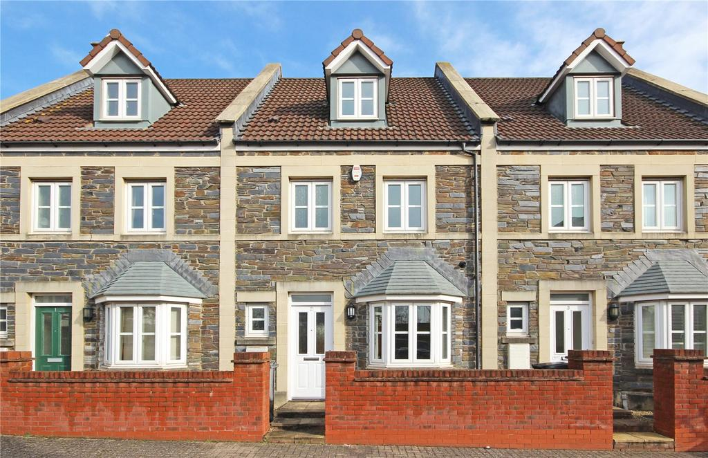4 Bedrooms Terraced House for sale in Trubshaw Close, Horfield, Bristol, BS7