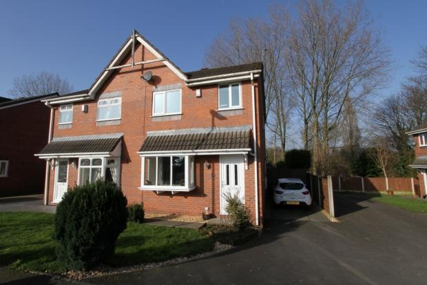 3 Bedrooms Semi Detached House for sale in King George Close Ashton In Makerfield Wigan