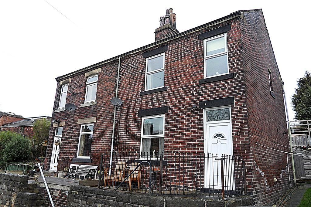 3 Bedrooms Semi Detached House for sale in Stocks Bank Road, Mirfield, West Yorkshire, WF14