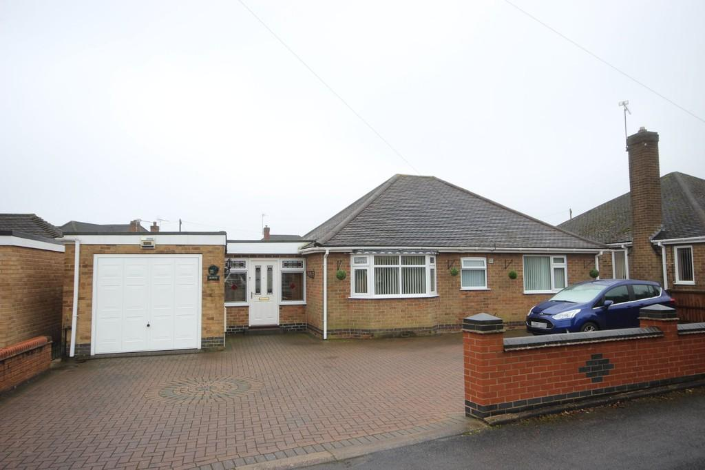 3 Bedrooms Detached Bungalow for sale in Rotherwood Drive, Ashby-de-la-zouch