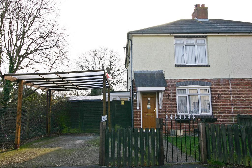 2 Bedrooms Semi Detached House for sale in Hunt Avenue, Netley Abbey, Southampton, SO31 5BE