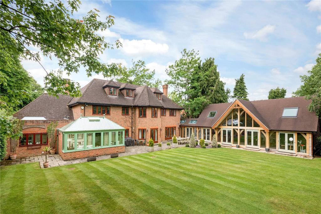 6 Bedrooms Detached House for sale in Leigh Hill Road, Cobham, Surrey, KT11