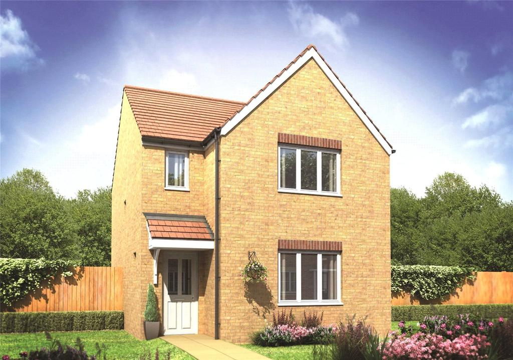 3 Bedrooms Detached House for sale in Plot 280 Millers Field, Manor Park, Sprowston, Norfolk, NR7