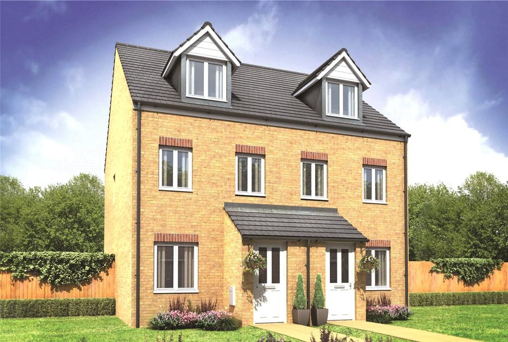 3 Bedrooms Semi Detached House for sale in Plot 283 Millers Field, Manor Park, Sprowston, Norfolk, NR7