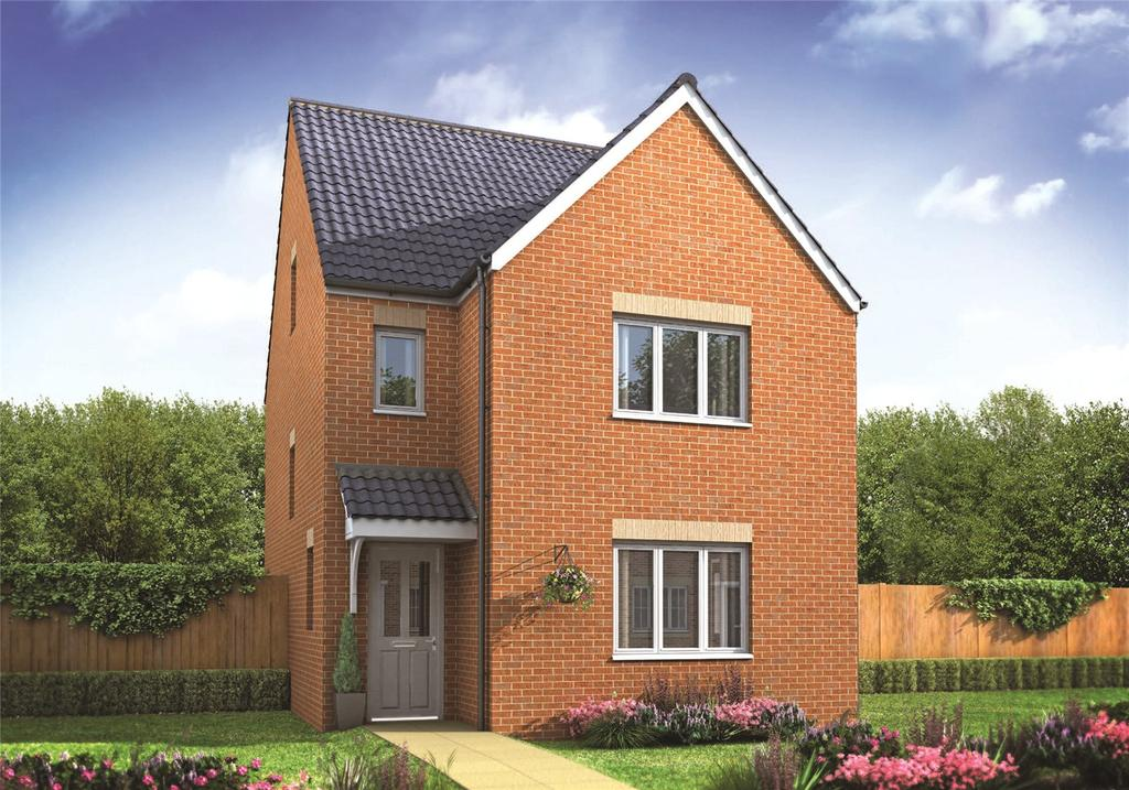 4 Bedrooms Link Detached House for sale in Plot 291 Millers Field, Manor Park, Sprowston, Norfolk, NR7