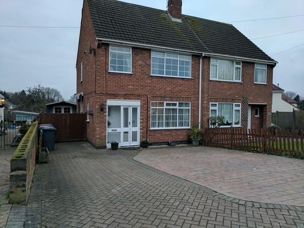 3 Bedrooms Semi Detached House for sale in Gopsall Road, Hinckley