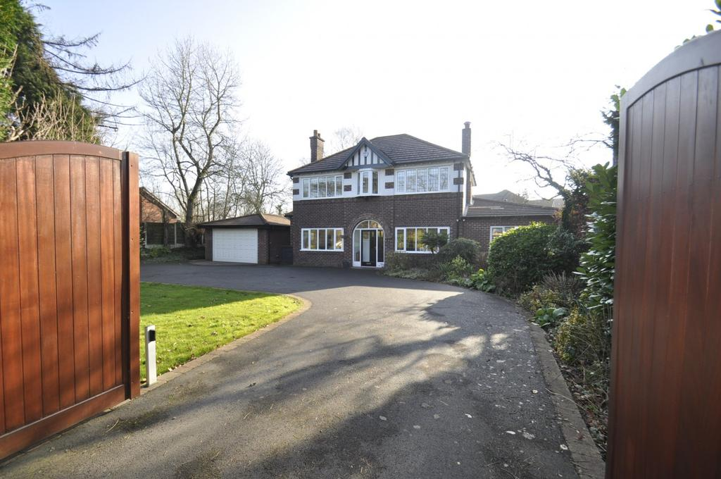 4 Bedrooms Detached House for sale in Bridge Lane, Bramhall