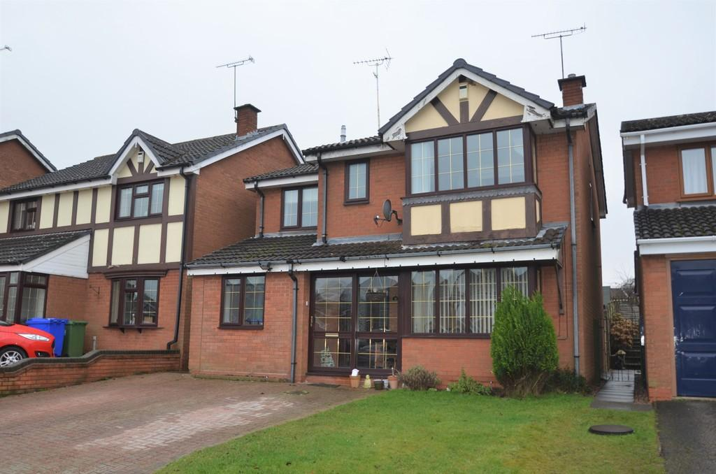 4 Bedrooms Detached House for sale in St Andrew Close, Rawnsley, Cannock