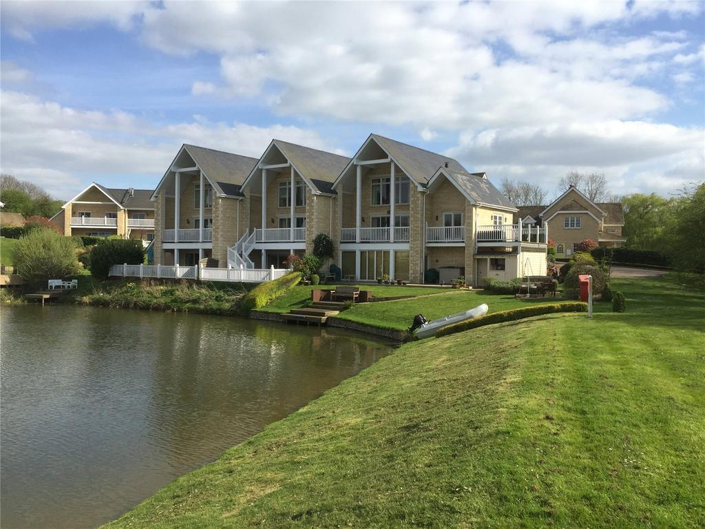 4 Bedrooms Terraced House for sale in Waters Edge, Wansford Marina, Peterborough, PE8