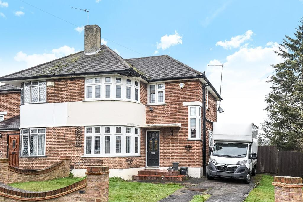 3 Bedrooms Semi Detached House for sale in Edgebury, Chislehurst, BR7
