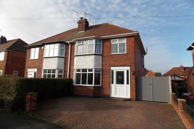 2 Bedrooms Semi Detached House for sale in Rufford Road, Ruddington, Nottingham, NG11