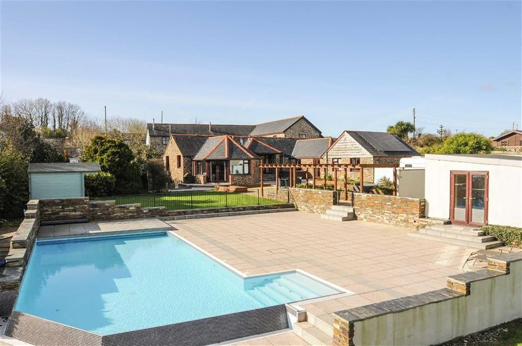 4 Bedrooms Detached House for sale in Treisaac, Newquay, Cornwall, TR8