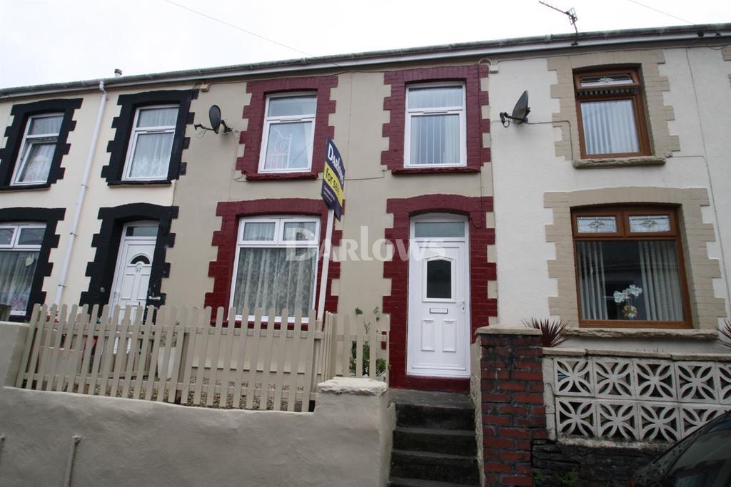2 Bedrooms Terraced House for sale in Bryntaf, Merthyr Tydfil