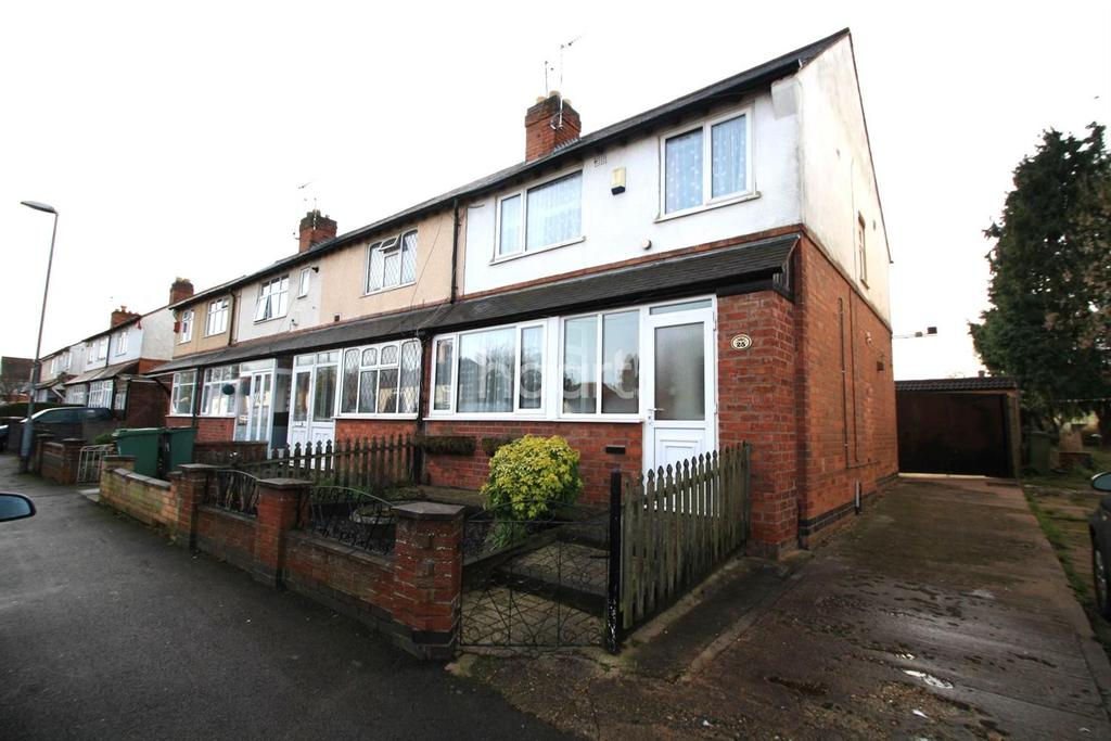 3 Bedrooms End Of Terrace House for sale in Grange Drive, Glen Parva