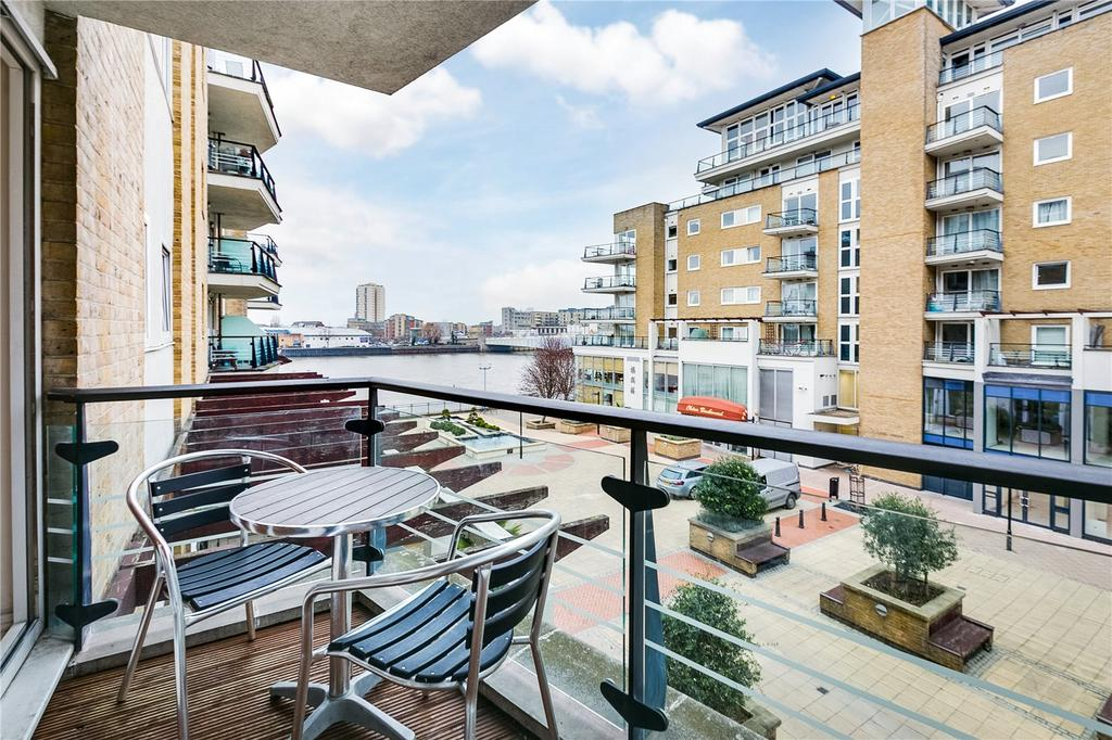 2 Bedrooms Flat for sale in Compass House, Smugglers Way, Wandsworth