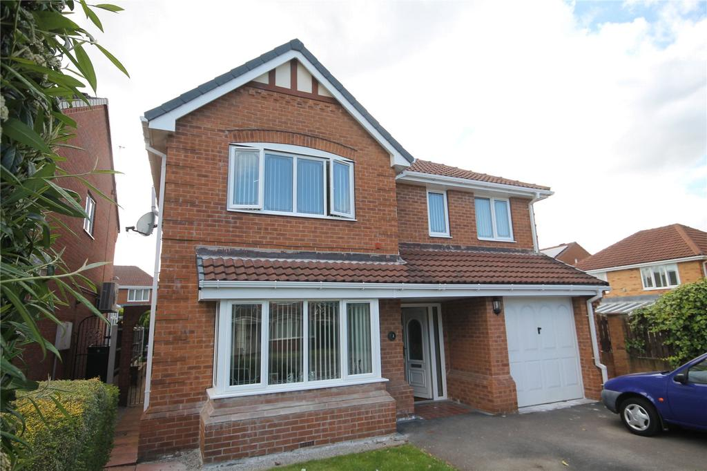 4 Bedrooms Detached House for sale in Gildhurst Court, Birdwell, Barnsley, S70