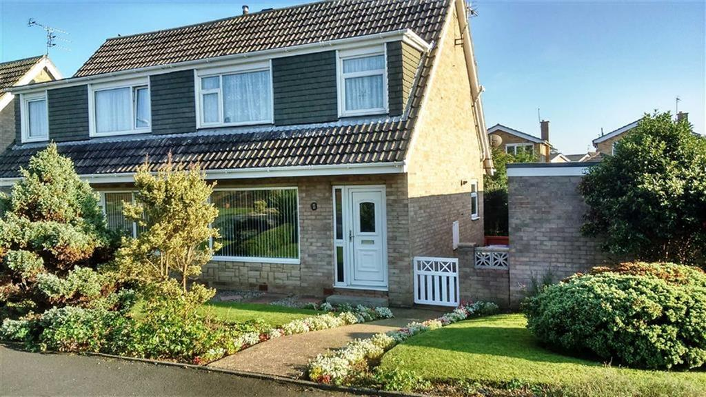 3 Bedrooms Semi Detached House for sale in Rosewood Walk, Bridlington, YO16