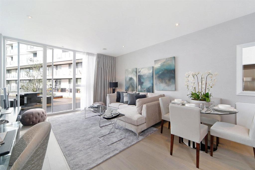 3 Bedrooms Flat for sale in River Gardens Walk, Banning Street, Greenwich, London