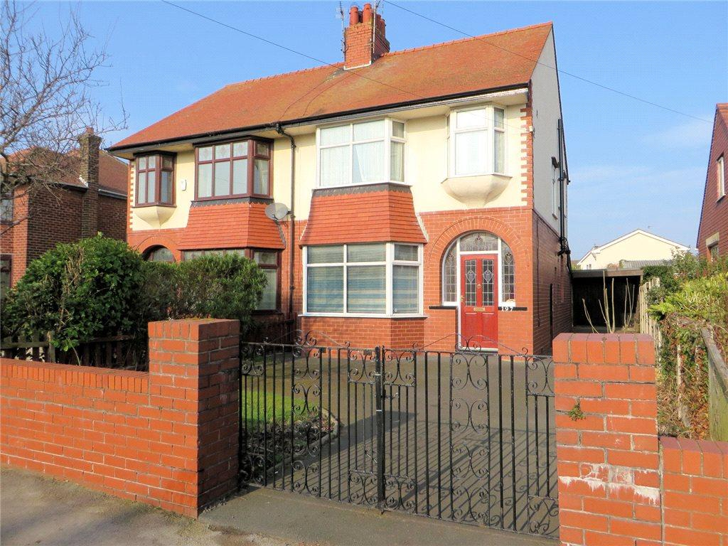 3 Bedrooms Semi Detached House for sale in West Drive, Thornton-Cleveleys, Lancashire
