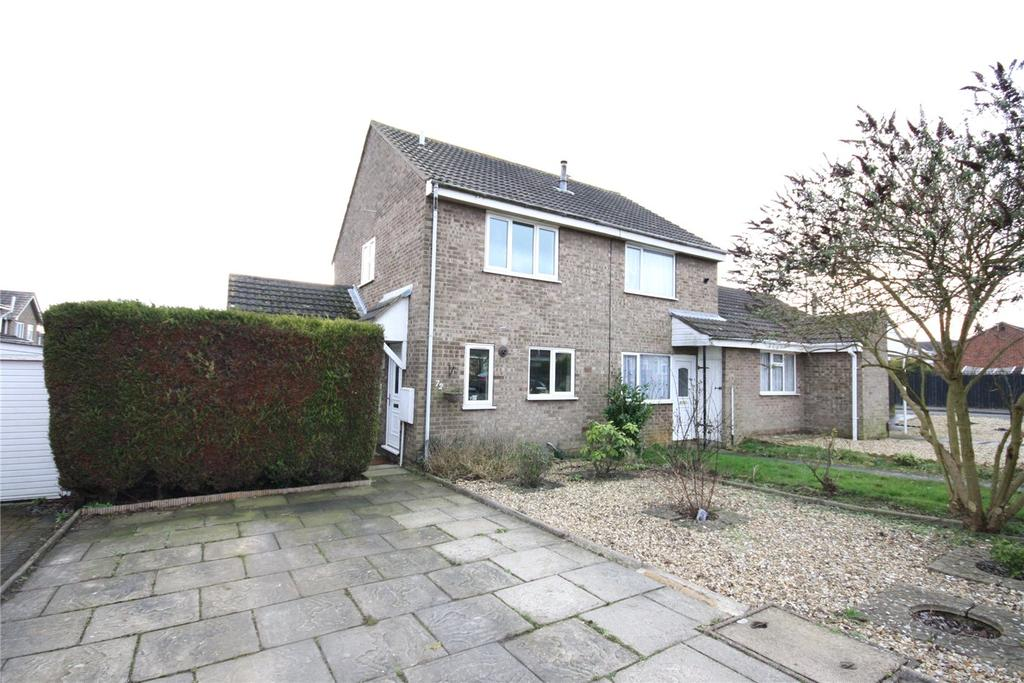 2 Bedrooms Semi Detached House for sale in Montaigne Crescent, Lincoln, LN2
