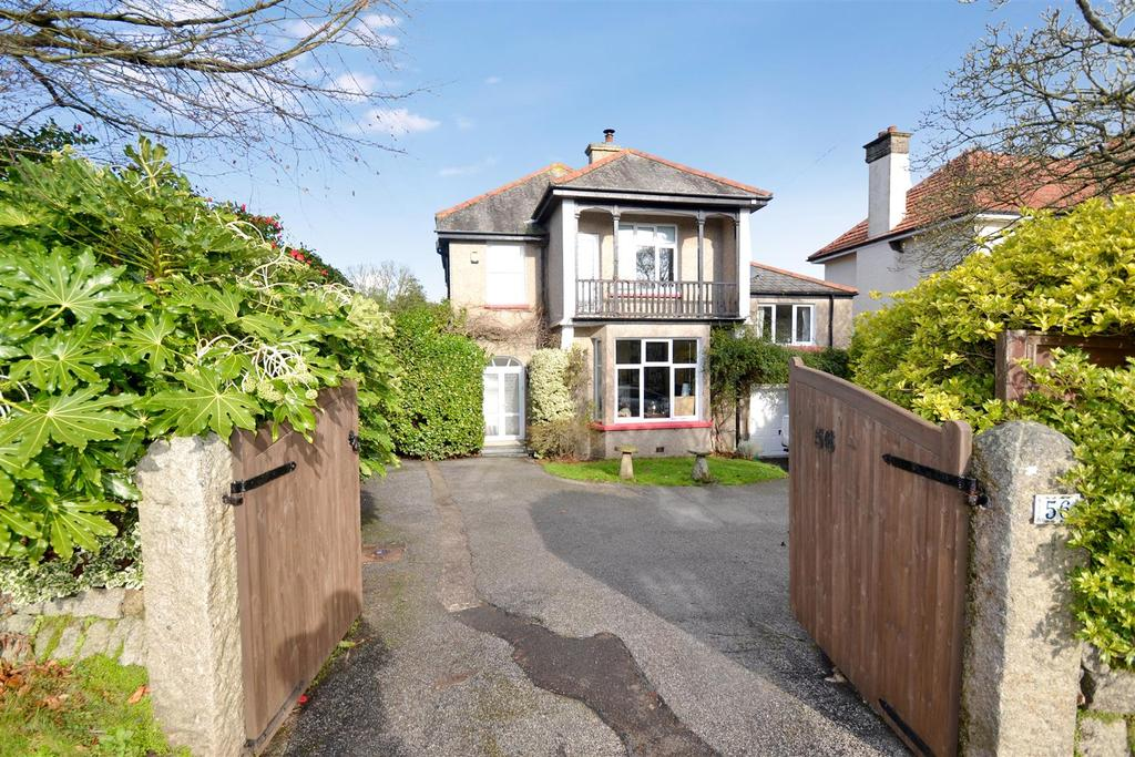 4 Bedrooms Detached House for sale in Melvill Road, Falmouth