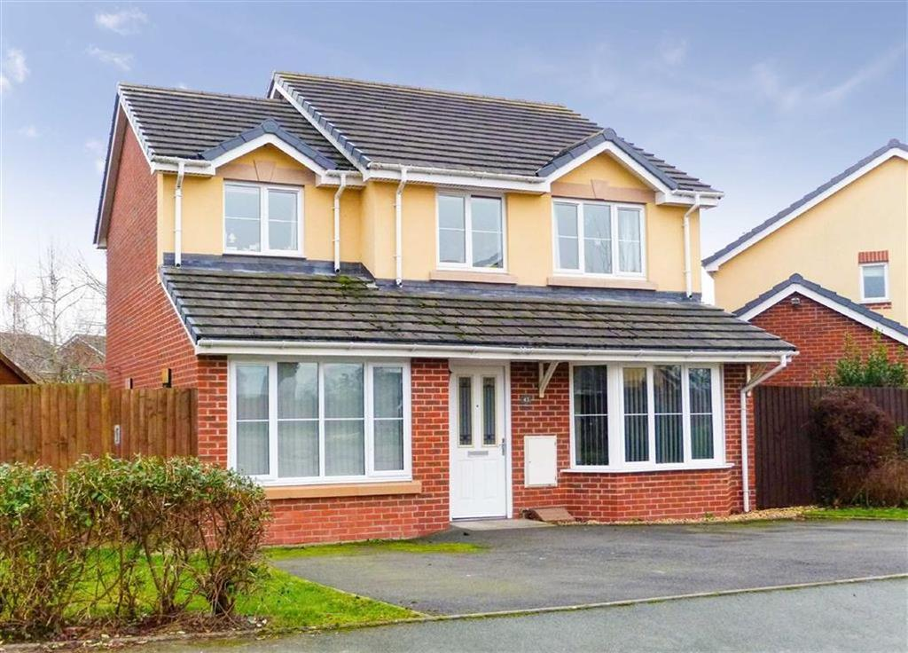 4 Bedrooms Detached House for sale in Parc Hafod, Four Crosses, SY22