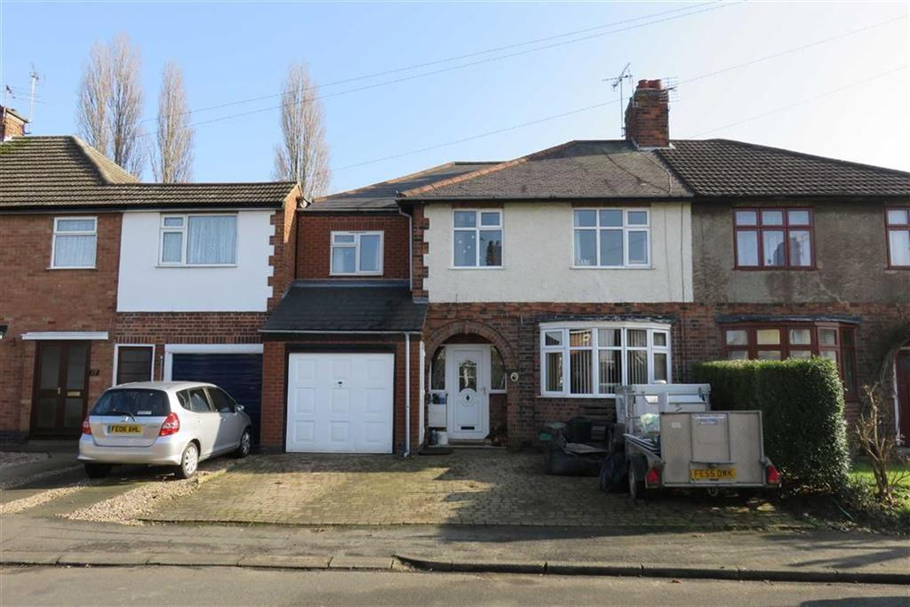 4 Bedrooms Semi Detached House for sale in Willow Park Drive, Wigston
