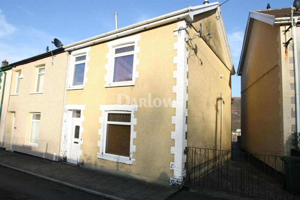 3 Bedrooms End Of Terrace House for sale in Ely Street, Tonypandy