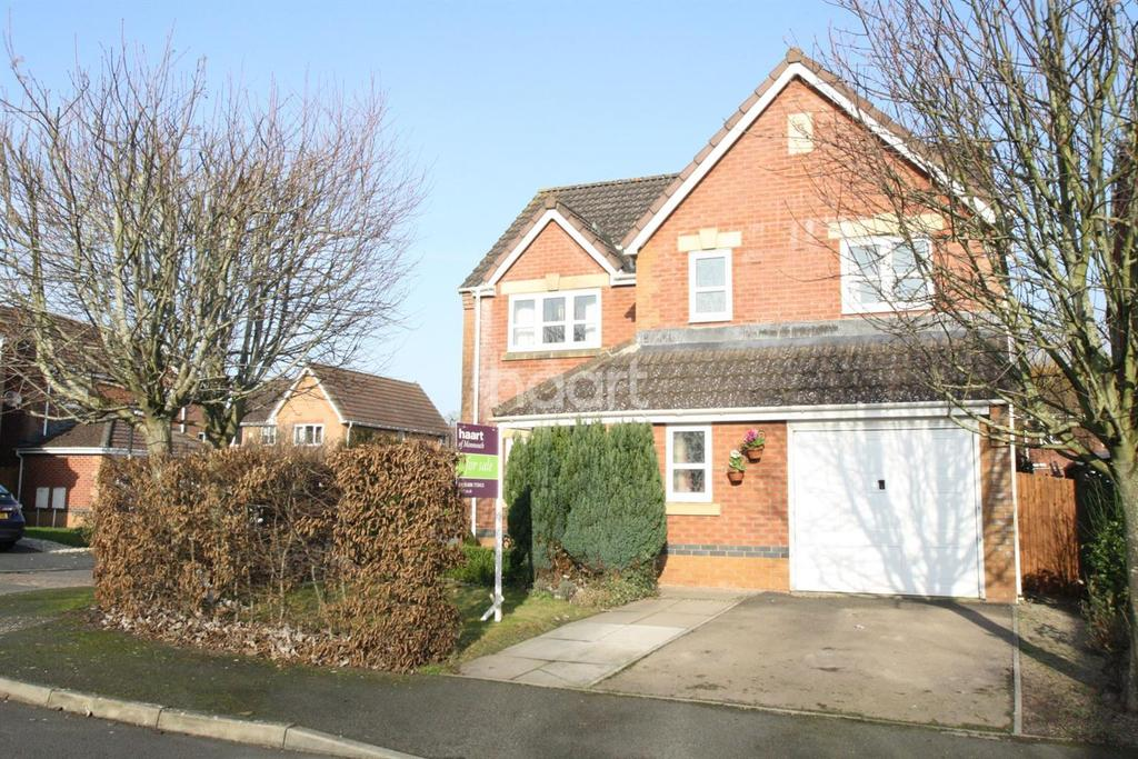 4 Bedrooms Detached House for sale in Trafalgar Close, Monmouth, Monmouthshire