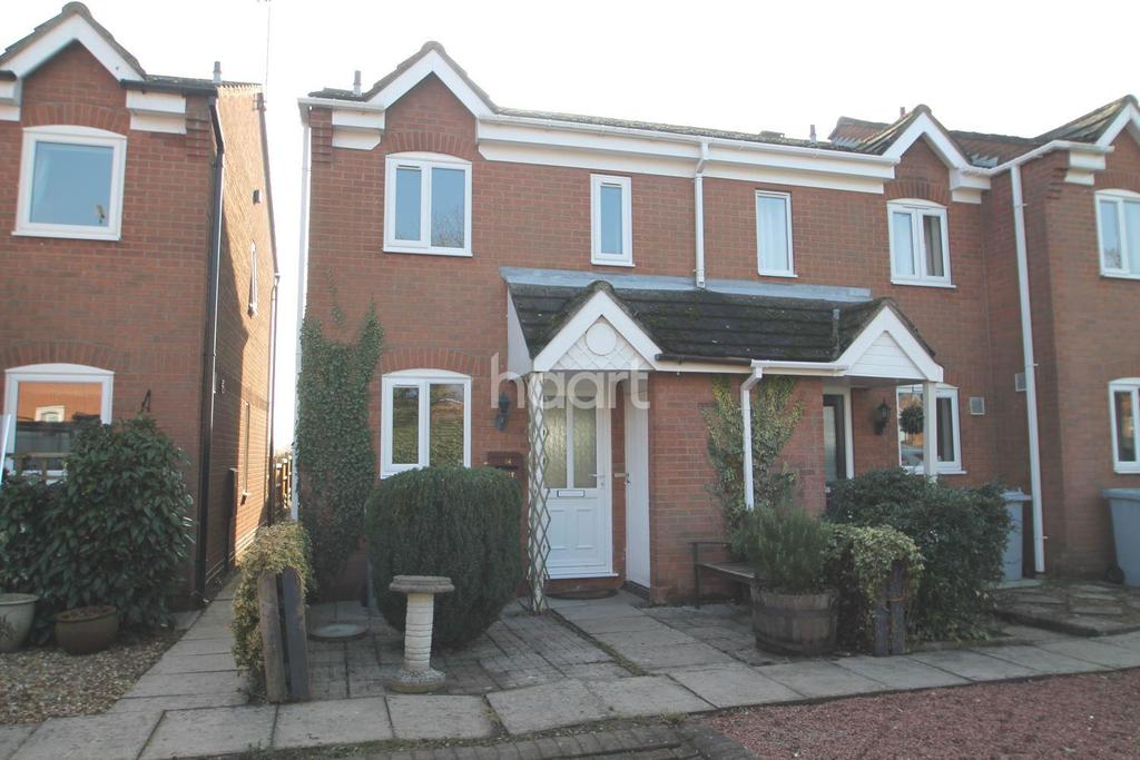2 Bedrooms End Of Terrace House for sale in Mill Close, Sutton On Trent
