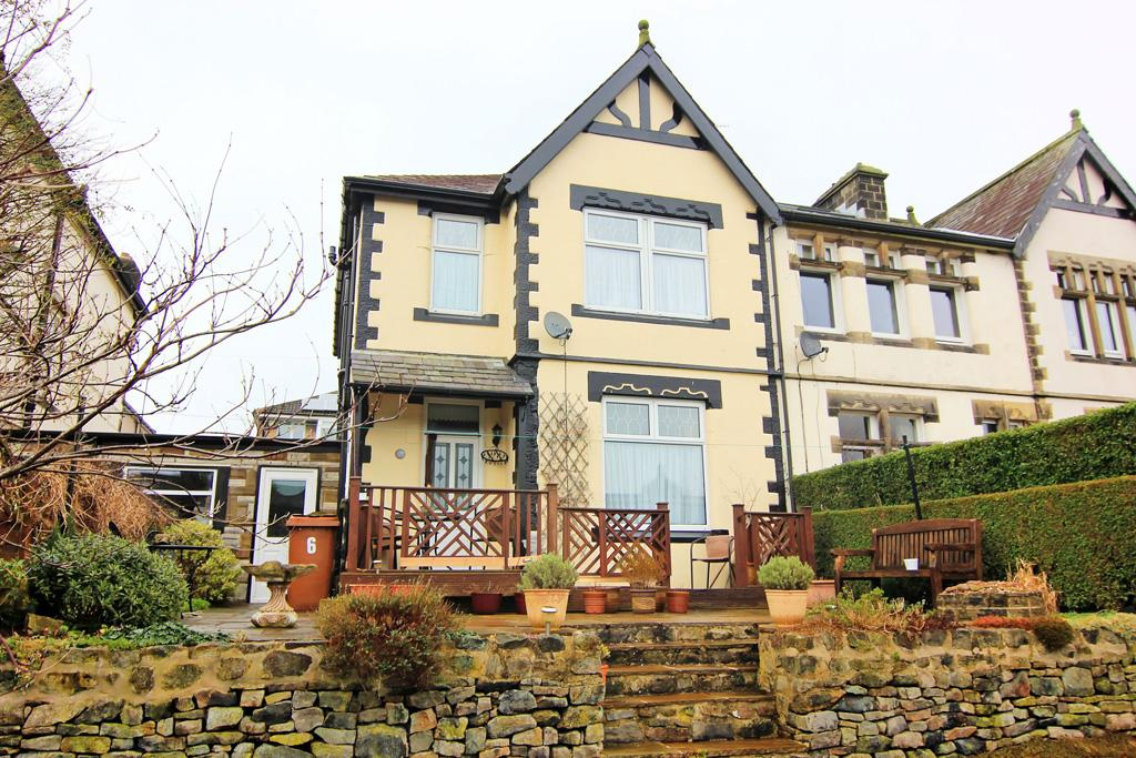 3 Bedrooms End Of Terrace House for sale in 6 Sunnybank Villas, Glusburn