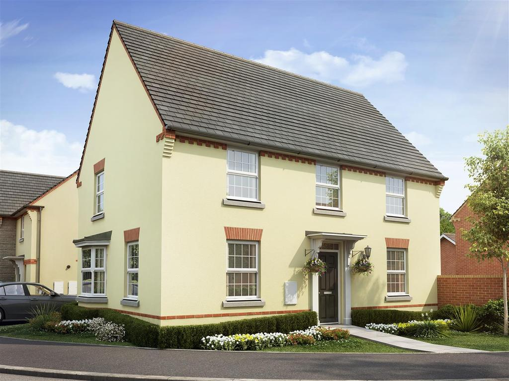 4 Bedrooms House for sale in Saxon Fields, Cullompton