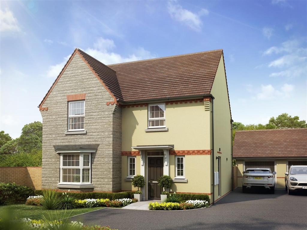 4 Bedrooms Detached House for sale in Saxon Fields, Cullompton