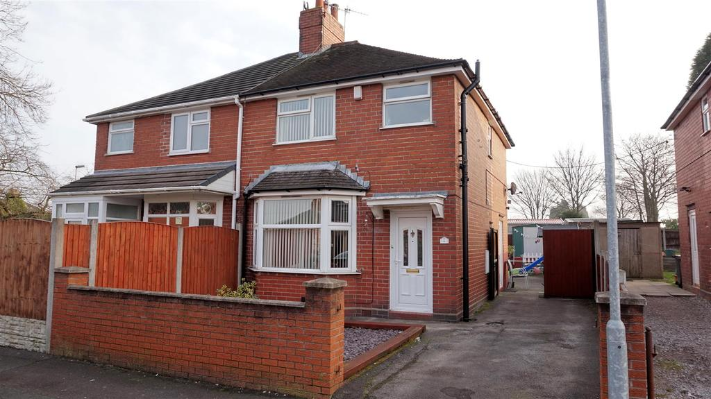 3 Bedrooms Semi Detached House for sale in Saunders Road, Milehouse, Newcastle, Staffs