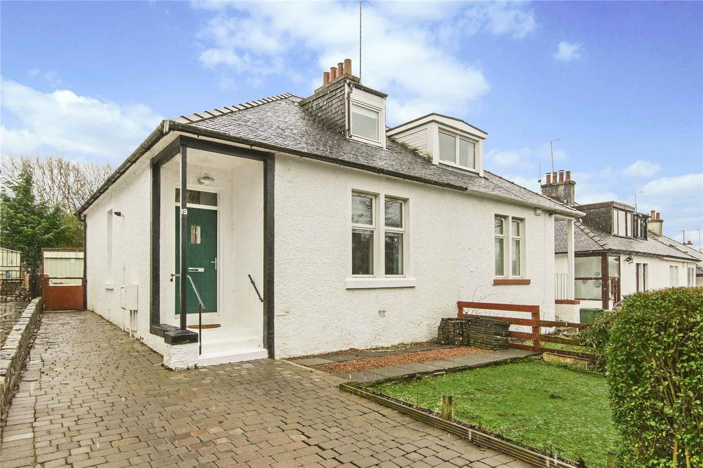 2 Bedrooms Semi Detached House for sale in 19 Burnfield Cottages, Thornliebank, Glasgow, G46