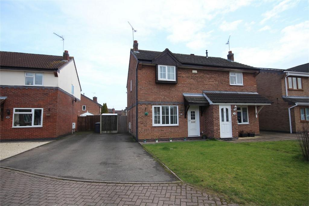 3 Bedrooms Semi Detached House for sale in Launceston Drive, Horeston Grange, Nuneaton, Warwickshire