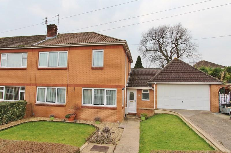 3 Bedrooms End Of Terrace House for sale in Mendip Close, Keynsham, Bristol