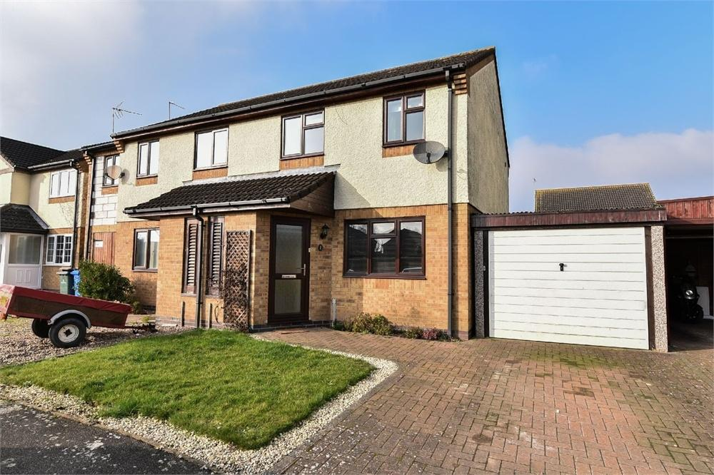 3 Bedrooms Semi Detached House for sale in Wing Drive, Fishtoft, Boston, Lincolnshire