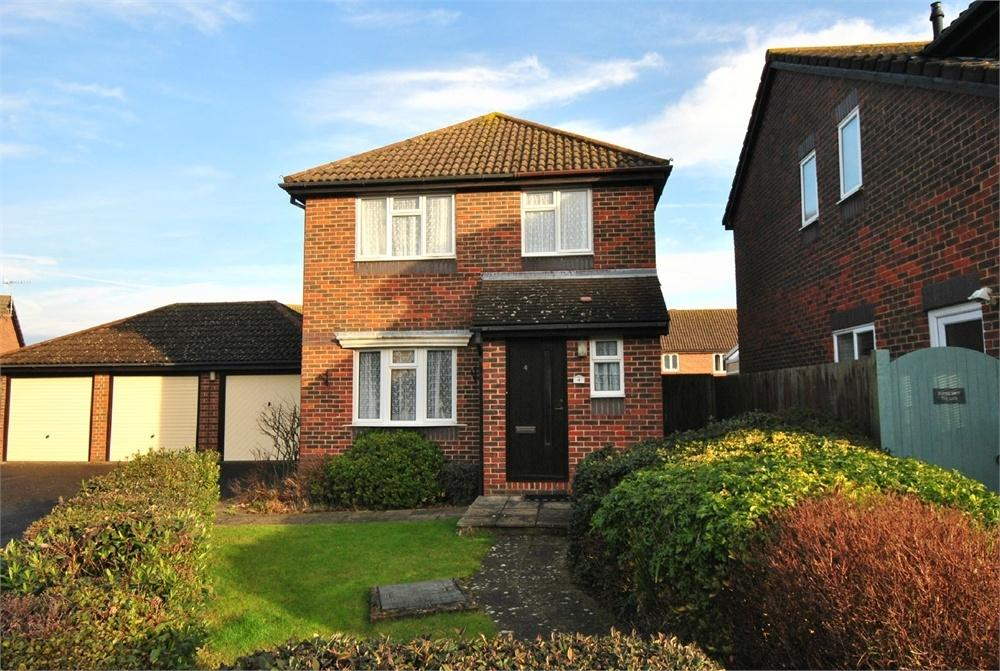 3 Bedrooms Detached House for sale in Turner Close, BEXHILL-ON-SEA, East Sussex