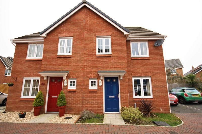 3 Bedrooms Semi Detached House for sale in Clos Honddu , Bettws, Newport, Newport. NP20 7GG