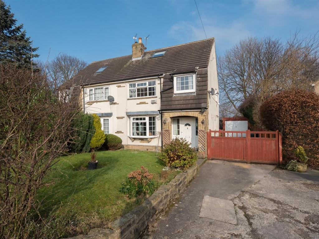 3 Bedrooms Semi Detached House for sale in Fagley Croft, Bradford, BD2 3JQ