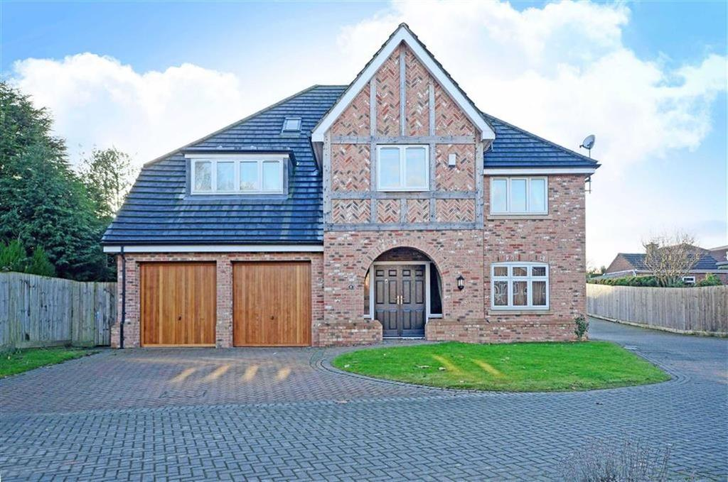 5 Bedrooms Detached House for sale in 1, Hillhouse Court, New Road, Wingerworth, Chesterfield, Derbyshire, S42