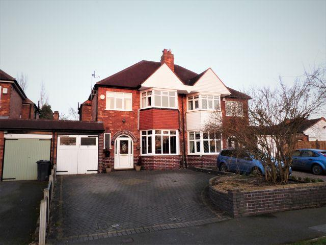 3 Bedrooms Semi Detached House for sale in Welford Road,Sutton Coldfield,